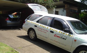 dent repairs on your driveway