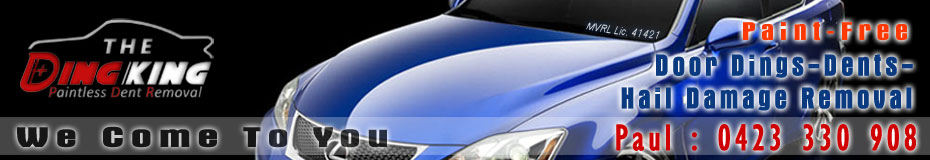 Paintless Dent  Removal header image